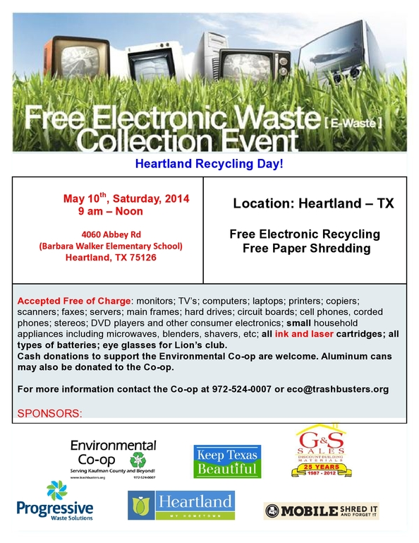 Heartland Electronic Recycling Event May 10-page0001