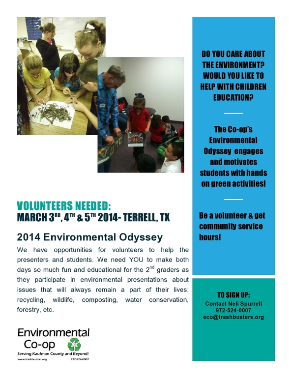 Volunteering opportunity- Corrected